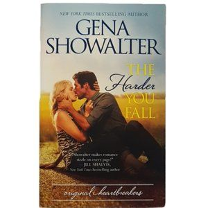 Other - The Harder You Fall by Gena Showalter book PB